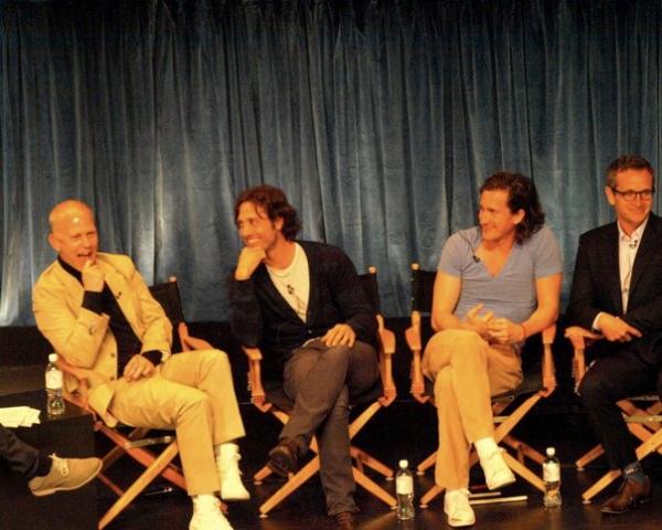 Ryan Murphy, Brad Falchuk, Ian Brennan, and Dante DiLoreto Photo