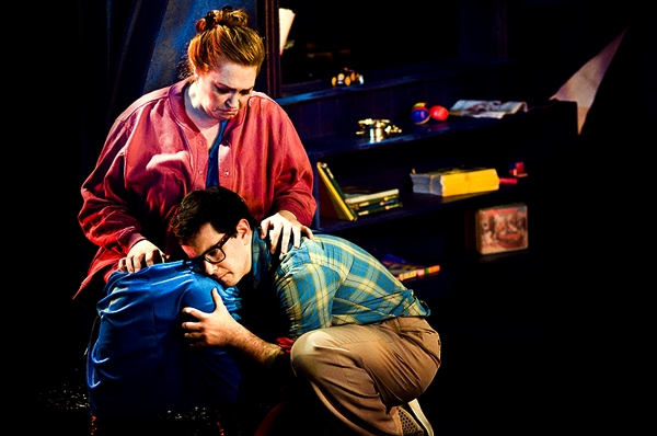 High Res Katie Thompson & Alex Brightman