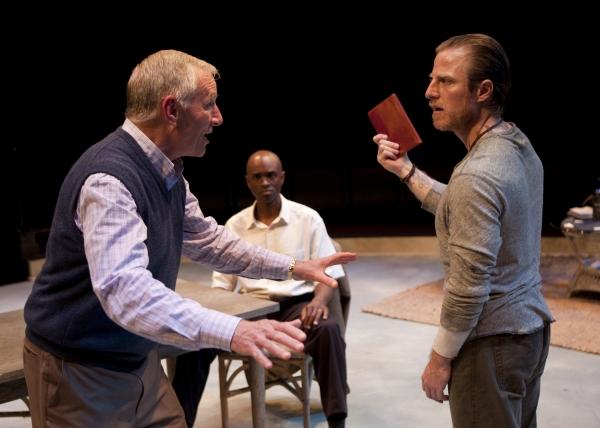 Ned Schmidtke as Smith, Owiso Odera as Thami and Antony Hagopian as Johan