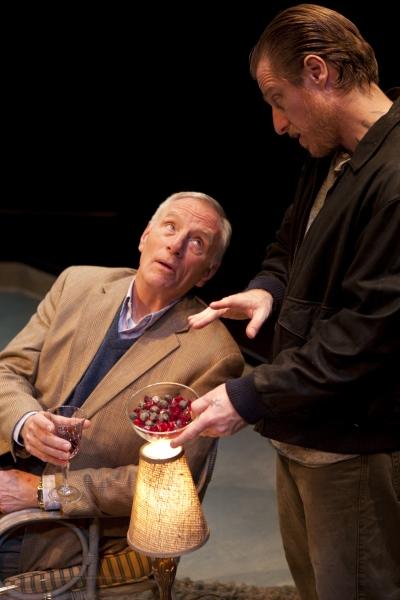 Ned Schmidtke as Smith and Antony Hagopian as Johan