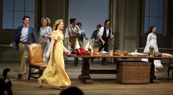 Photo Coverage: ARCADIA Opening Night Curtain Call