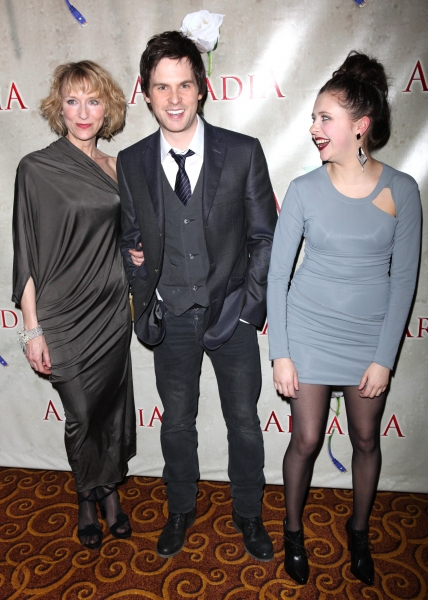 Lia Williams & Tom Riley & Bel Powley attending the Broadway Opening Night After Party for 'Arcadia' at Gotham Hall in New York City.