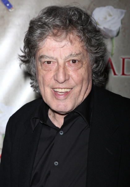 Tom Stoppard attending the Broadway Opening Night After Party for 'Arcadia' at Gotham Hall in New York City. at ARCADIA Opening Night After Party