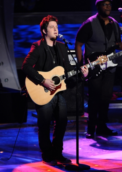 Lee DeWyze at Karen is Eliminated from AMERIAN IDOL