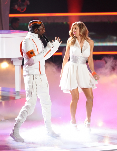 The Black Eyed Peas  at Karen is Eliminated from AMERIAN IDOL
