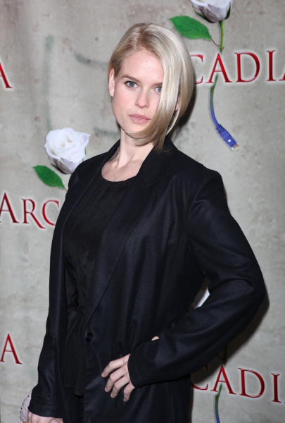 Alice Eve attending the Broadway Opening Night Performance of 'Arcadia' at the Barrymore Theatre in New York City