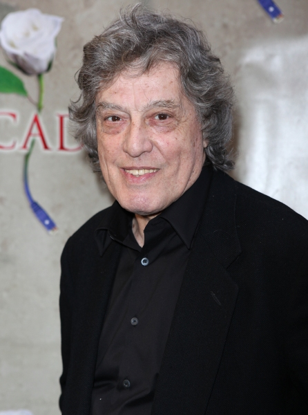Tom Stoppard attending the Broadway Opening Night Performance of 'Arcadia' at the Barrymore Theatre in New York City at ARCADIA Opening Night Arrivals