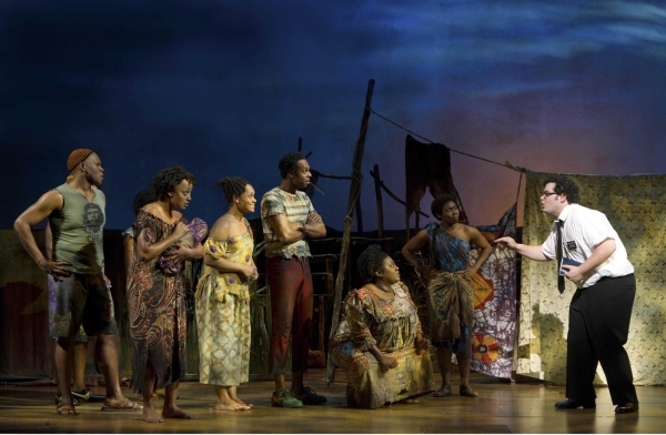 Photo Flash: THE BOOK OF MORMON on Broadway - First Production Shots!