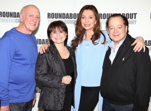 Stoller, Iris Rainer Dart, Donna Murphy and Artie Butler attending the 'The People in the Picture' Meet & Greet at the Roundabout Rehearsal Studios in New York City.