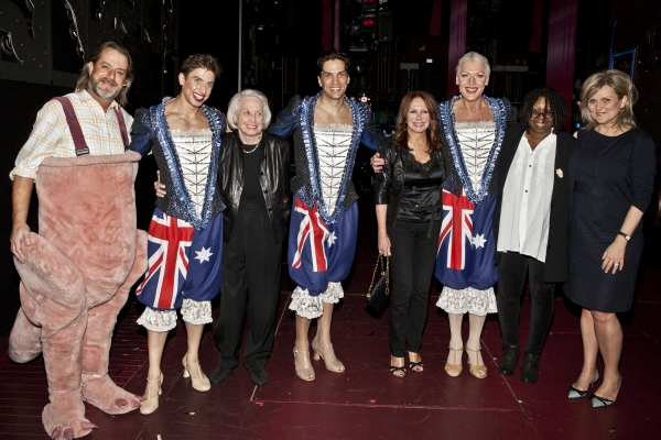 C. David Johnson, Nick Adams, Liz Smith, Will Swenson, Marlo Thomas, Tony Sheldon, Whoopi Goldberg and Cynthia McFadden