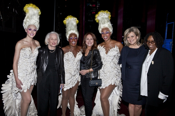 Ashley Spencer, Liz Smith, Anastacia McCleskey, Marlo Thomas, Jacqueline B. Arnold, Cynthia McFadden and Whoopi Goldberg