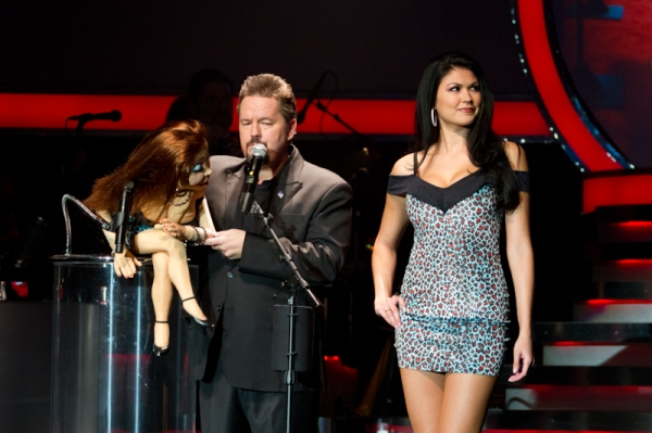 Ventriloquist Terry Fator  at Terry Fator Celebrates 2-Year Anniversary at the Mirage