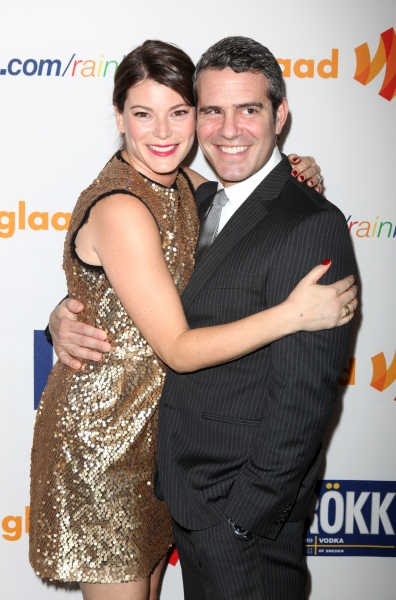 Gail Simmons and Andy Cohen attending the 22nd Annual GLAAD Media Awards in New York City.