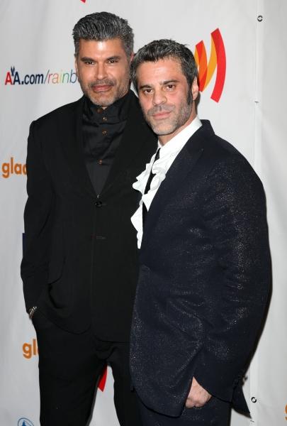 Mike Ruiz & Martin Berusch attending the 22nd Annual GLAAD Media Awards in New York  Photo
