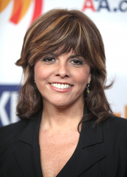 Jane Velez-Mitchell attending the 22nd Annual GLAAD Media Awards in New York City.