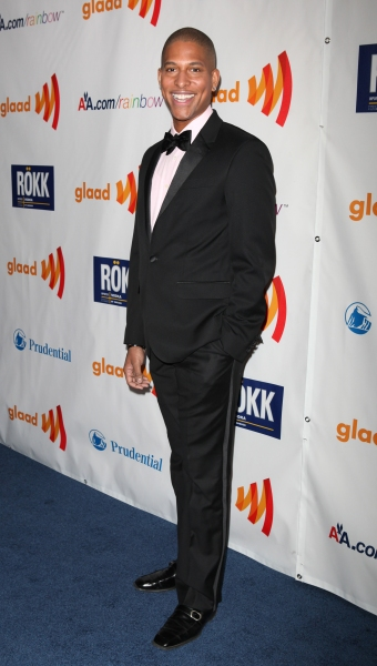 Nathan Williams attending the 22nd Annual GLAAD Media Awards in New York City.