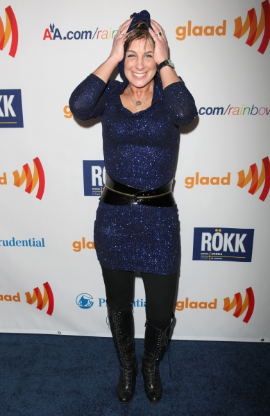 Tracy Young attending the 22nd Annual GLAAD Media Awards in New York City.