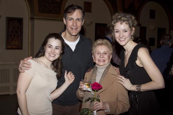 Lauren Worsham, Howard McGillan, Jo Sullivan Loesser and Jill Paice Photo