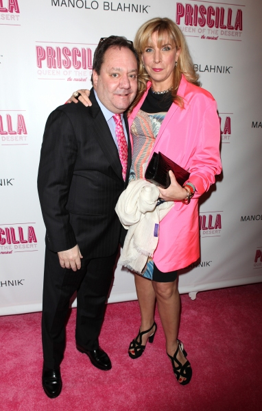 James L. Nederlander attending the Broadway opening Night Performance of 'Priscilla Queen of the Desert - The Musical' at the Palace Theatre in New York City. at PRISCILLA QUEEN OF THE DESERT Red Carpet - Part 1