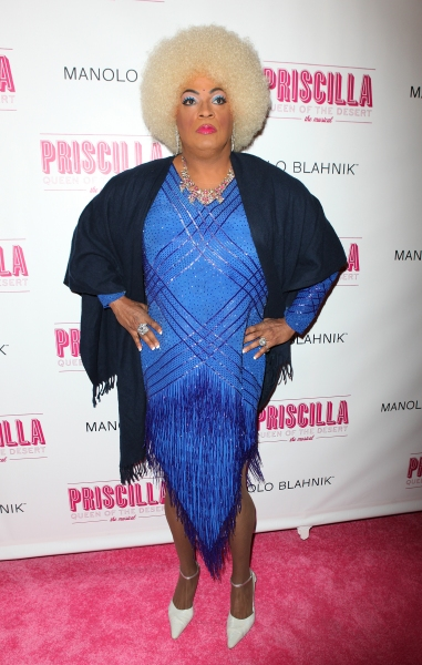 Flotilla DeBarge attending the Broadway opening Night Performance of 'Priscilla Queen of the Desert - The Musical' at the Palace Theatre in New York City.