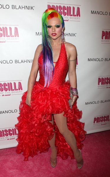 Vanity Fair attending the Broadway opening Night Performance of 'Priscilla Queen of the Desert - The Musical' at the Palace Theatre in New York City. at PRISCILLA QUEEN OF THE DESERT Red Carpet - Part 2