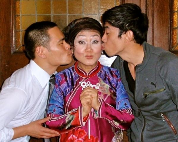 Thai-Hoa Le, Nguyen thi Minh Ngoc and Leon Le  Photo