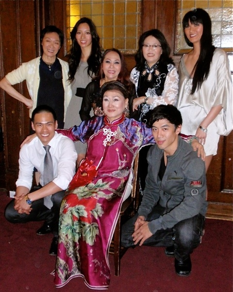(top, l-r) - Tisa Chang, Chantal Thuy, Ngoc Dang, Nancy Eng, Tienne Vu; Bottom row left to right: Thai-Hoa Le, Nguyen thi Minh Ngoc, Leon Le