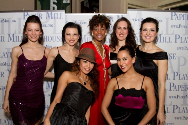 Nicole Benoit, Anne Otto, Kristine Bendul, Chondra L. Profit, Liz McKendry,  Kristine Covillo, Lara Seibert  at Paper Mill's FORUM Celebrates Opening Night