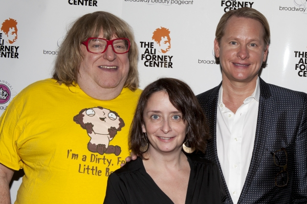 Bruce Vilanch, Rachel Dratch and Carson Kressley