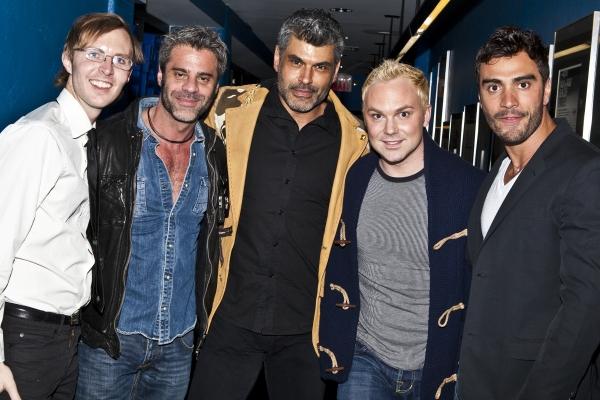 Wil Fisher, Martin Berusch, Mike Ruiz, Ryan Nickulas and Rodiney Santiago Photo