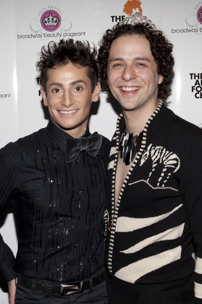 Frankie James Grande and Anthony Hollock