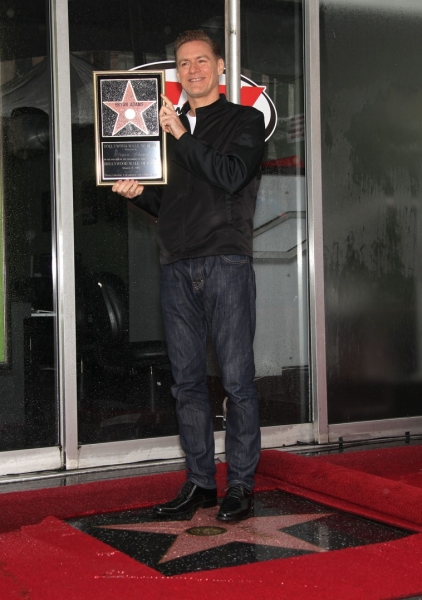 Photo Flash: Bryan Adams Receives Star on Hollywood Walk of Fame