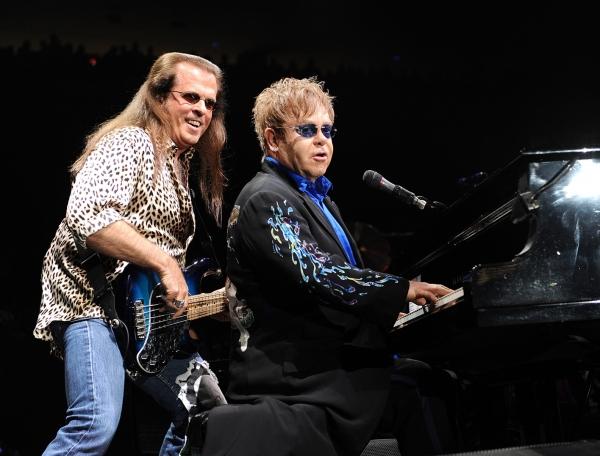 Bob Birch and Elton John Photo