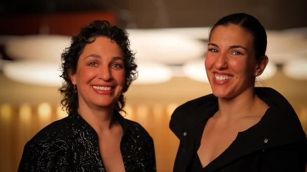 Dr. Iris Levine and Ana Maria Alvares