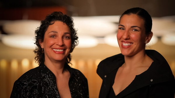 Dr. Iris Levine and Ana Maria Alvares Photo