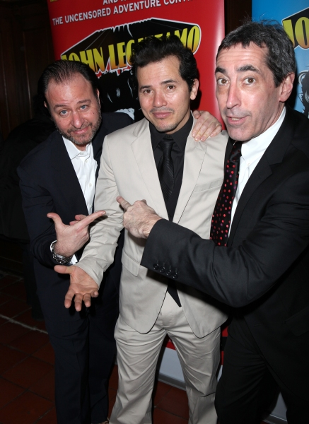 Director Fisher Stevens, John Leguizamo, Producer Arnold Engelman attending the Broadway Opening Night Performance Reception for  'Ghetto Klown'  at the Lyceum Theatre in New York City.