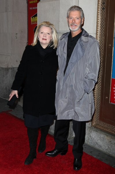 Stephen Lang & wife Tina Lang attending the Broadway Opening Night Performance of  'Ghetto Klown'  at the Lyceum Theatre in New York City. at GHETTO KLOWN Opening Night Arrivals