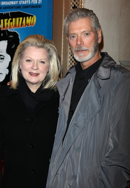 Stephen Lang & wife Tina Lang attending the Broadway Opening Night Performance of  'Ghetto Klown'  at the Lyceum Theatre in New York City.