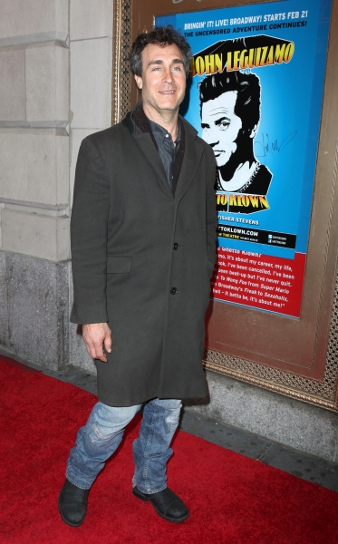 Doug Liman attending the Broadway Opening Night Performance of  'Ghetto Klown'  at the Lyceum Theatre in New York City.