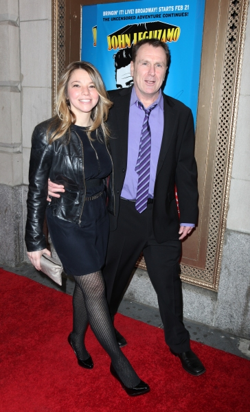 Jen Sochko & Colin Quinn attending the Broadway Opening Night Performance of  'Ghetto Klown'  at the Lyceum Theatre in New York City. at GHETTO KLOWN Opening Night Arrivals
