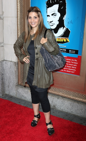 Callie Thorne attending the Broadway Opening Night Performance of  'Ghetto Klown'  at the Lyceum Theatre in New York City. at GHETTO KLOWN Opening Night Arrivals