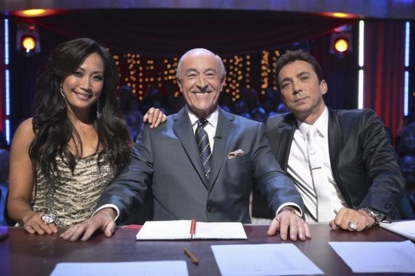 Carrie Ann Inaba, Len Goodman, Bruno Tonioli at DANCING WITH THE STARS  Premiere!