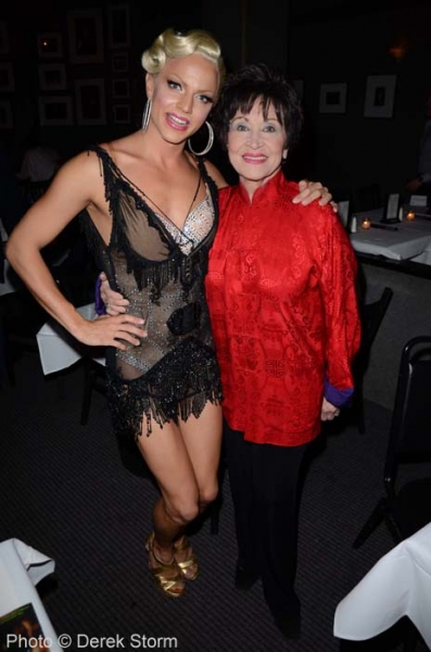 Courtney Act, Chita Rivera