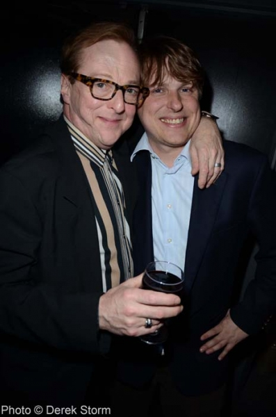 Photo Flash: Rivera, Weinstein, et al. Attend Sam Davis Cast Party