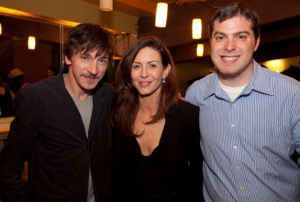 John Hawkes, Michelle Clunie at MERCY SEAT Celebrates Opening Night