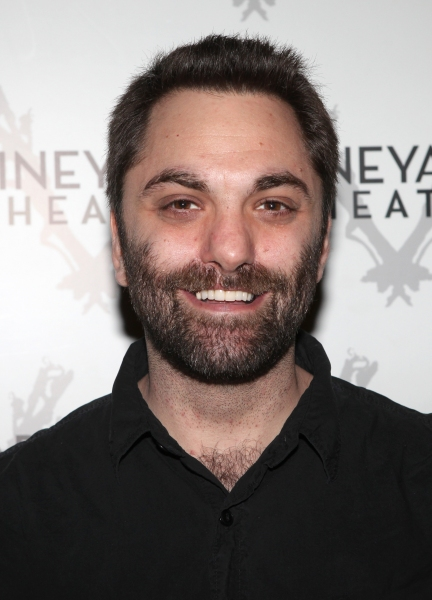 Christopher Shinn attending the Meet & Greet the cast & creatives for the Off-Broadway World Premiere of 'PICKED' at the Vineyard Theatre in New York City.