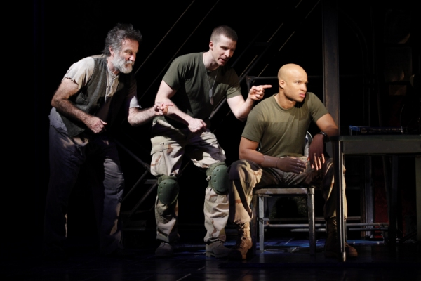 Photo Flash: BENGAL TIGER AT THE BAGHDAD ZOO on Broadway!