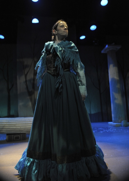 Katherine Michelle Tanner (Margaret Fuller). Photo by Tony Firriolo. http://www.orlanodshakes.org