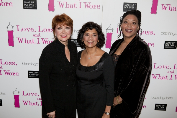 Donna McKechnie, Sonia Manzano and Fredi Walker-Browne
