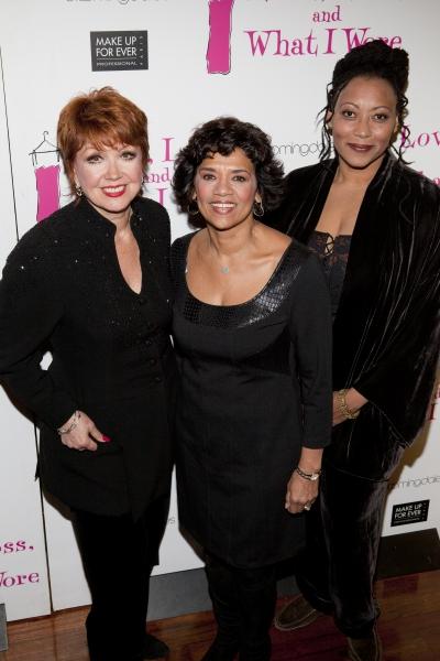 Donna McKechnie, Sonia Manzano and Fredi Walker-Browne